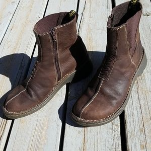 Dr.Martens Brown Leather Boots Adorable Sz 9Us
